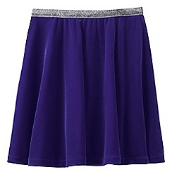 Lands' End - Purple girls' velveteen skirt