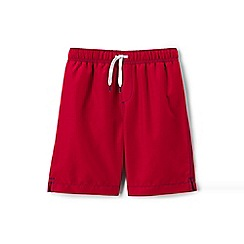 Lands' End - Red swim shorts