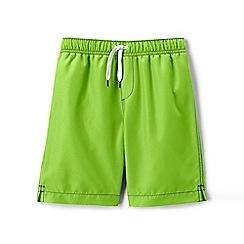 Lands' End - Green swim shorts