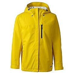 Lands' End - Yellow regular waterproof jacket