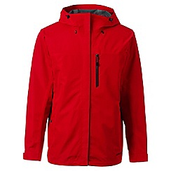 Lands' End - Red regular waterproof jacket