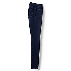 Lands' End - Blue xtra life denim pull-on skinny jeans