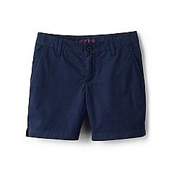 Lands' End - Girls' blue mini bermuda shorts