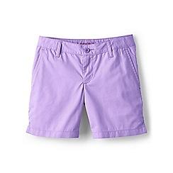 Lands' End - Girls' purple mini bermuda shorts