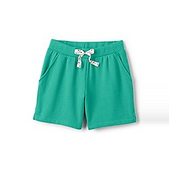 Lands' End - Blue girls' jersey midi shorts