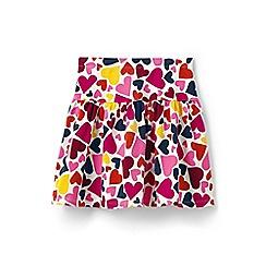 Lands' End - Girls' pink patterned skort