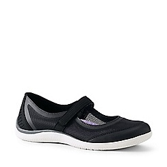 Lands' End - Black Regular Mary Jane Water Shoes