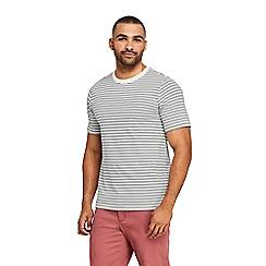 Lands' End - Cream Stripe Super-T T-shirts