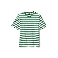 Lands' End - Green stripe super t-shirt