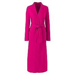 Lands' End - Pink supima dressing gown