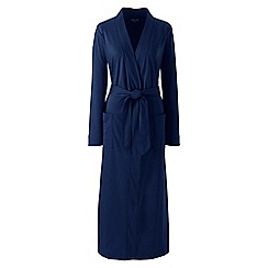 Lands' End - Blue supima dressing gown