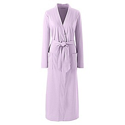 Lands' End - Purple supima dressing gown