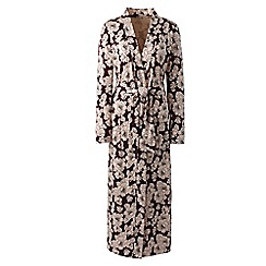 Lands' End - Multi petite supima patterned dressing gown