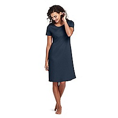 Lands' End - Blue petite supima nightdress