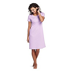 Lands' End - Purple petite supima nightdress
