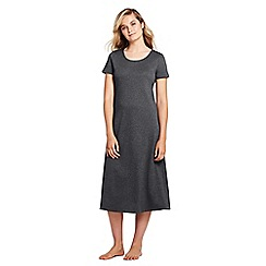Lands' End - Grey petite supima nightdress