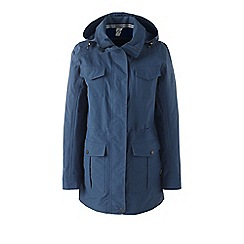 Lands' End - Blue plus spring squall parka