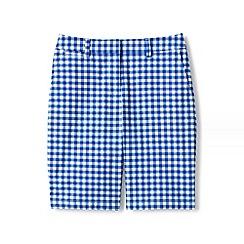 Lands' End - Blue regular print chino shorts