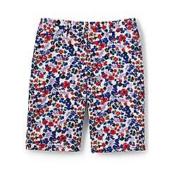 Lands' End - Multi regular print chino shorts