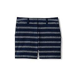 Lands' End - Blue regular textured chino shorts