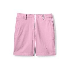Lands' End - Pink 7' chino shorts