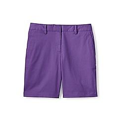 Lands' End - Purple 7' chino shorts