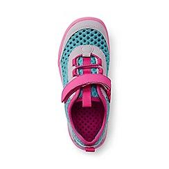 Lands' End - Kids' blue water shoes