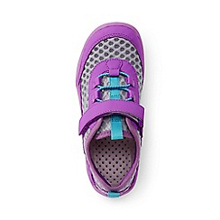 Lands' End - Kids' grey water shoes