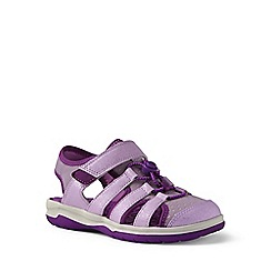 Lands' End - Purple closed-toe action sandals