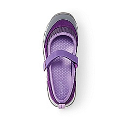 Lands' End - Girls' purple everyday mary jane shoes