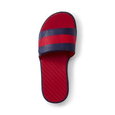 Lands' End - Kids' blue action slider sandals