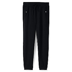 Lands' End - Black plus jogger trousers