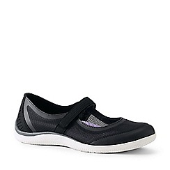 Lands' End - Black Wide Mary Jane Water Shoes