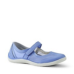 Lands' End - Blue Wide Mary Jane Water Shoes