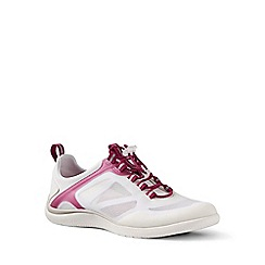 Lands' End - White regular water shoes