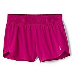 Lands' End - Pink le sport running shorts