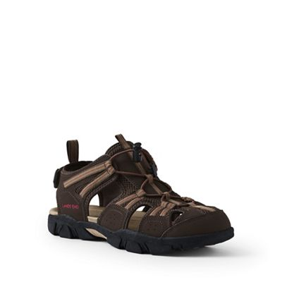 Lands' End - Brown wide water sandals
