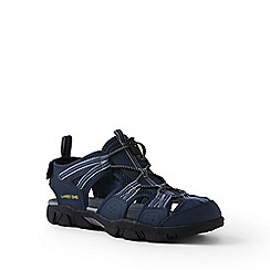 Lands' End - Blue wide water sandals