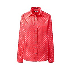 Lands' End - Multi Plus Classic Fit Print Non-Iron Shirt