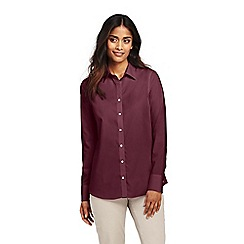 Lands' End - Red classic fit non-iron shirt