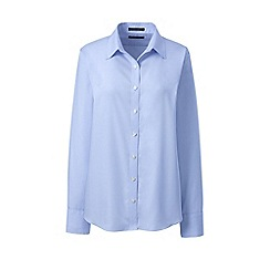 Lands' End - White classic fit non-iron shirt