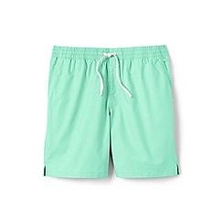 Lands' End - Cream regular deck shorts