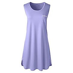 Lands' End - Purple plus sleeveless knee length supima nightdress