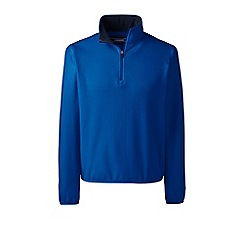 Lands' End - Blue half-zip fleece top