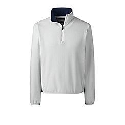 Lands' End - White half-zip fleece top