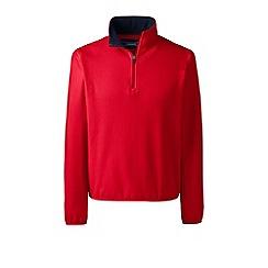 Lands' End - Red half-zip fleece top
