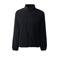 Lands' End - Black midweight fleece jacket