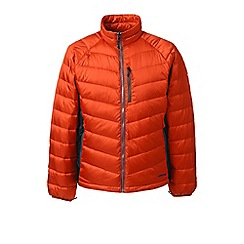 Lands' End - Brown lightweight down jacket