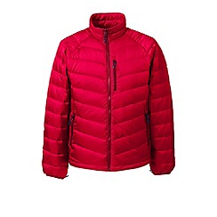 Lands' End - Red lightweight down jacket