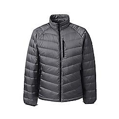 Lands' End - Grey lightweight down jacket